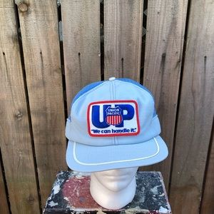 Vintage Union Pacific Men's Snapback Hat